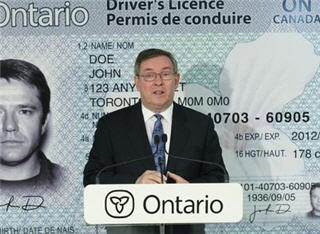 Ontario Driving License